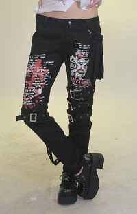 Pants with buckles G.L.P legwarmers