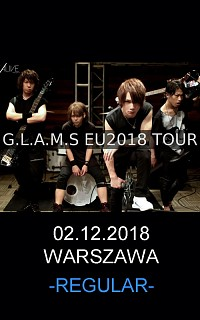 [E-TICKET REGULAR] G.L.A.M.S. - WARSAW 02.12.2018