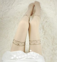 Stockings Tattoo gothic lolita